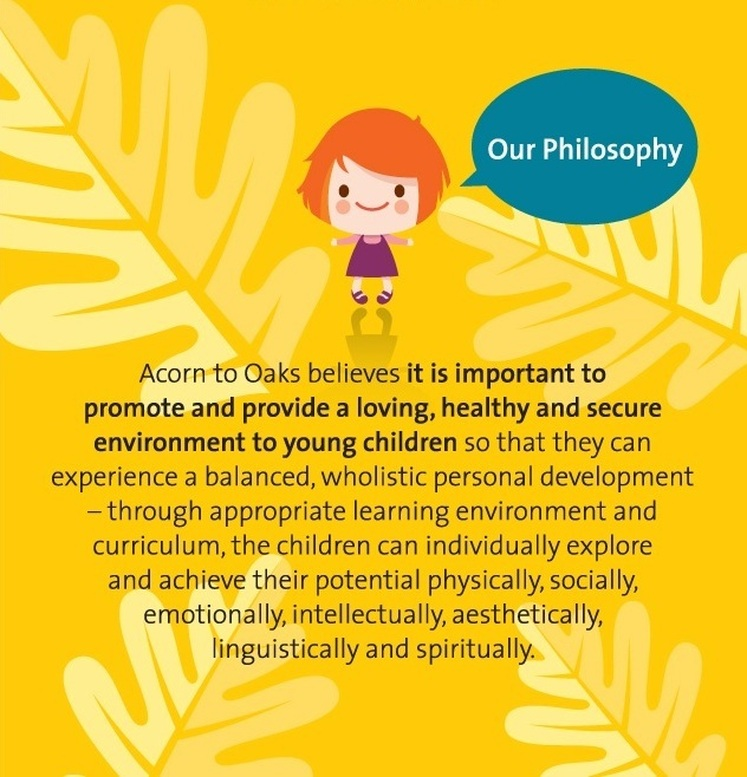 Philosophy Acorn To Oaks Academy Preschool Daycare Out Of